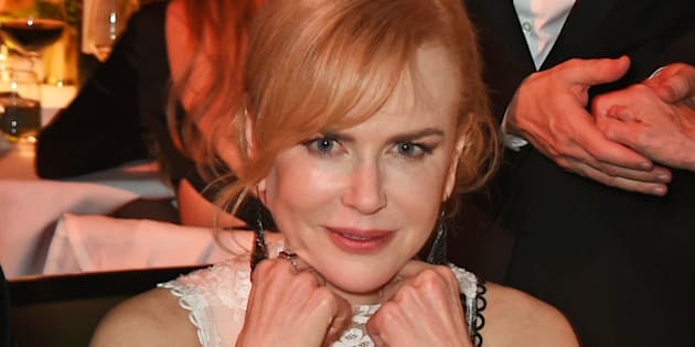LONDON, ENGLAND - NOVEMBER 22:  Nicole Kidman attends The London Evening Standard Theatre Awards in partnership with The Ivy at The Old Vic Theatre on November 22, 2015 in London, England.  (Photo by David M. Benett/Dave Benett/Getty Images)