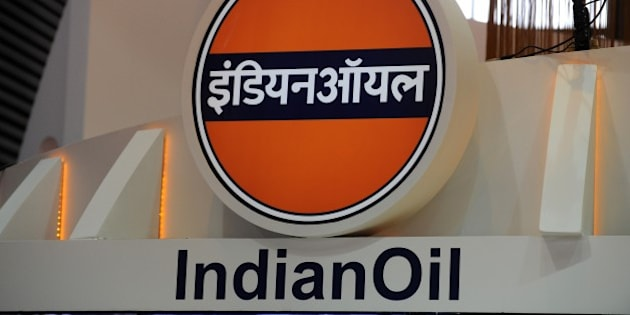 A picture shows the logo of the Indian Oil Corporation during the World Gas Conference exhibition in Paris on June 2, 2015. AFP PHOTO / ERIC PIERMONT        (Photo credit should read ERIC PIERMONT/AFP/Getty Images)