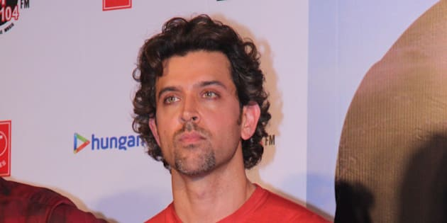 MUMBAI, INDIA - SEPTEMBER 1: Bollywood actor Hrithik Roshan during the launch of Dheere Dheere se, music video recreated by Yo Yo Honey Singh on September 1, 2015 in Mumbai, India. The song chosen is from the 1990 film Aashiqui. (Photo by Pramod Thakur/Hindustan Times via Getty Images)