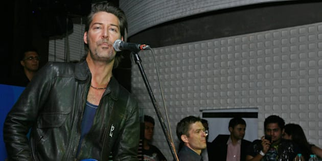 NEW DELHI, INDIA � JUNE 17: Mikkel Lentz from the pop band Michael Learns To Rock performs at the F-bar & lounge in New Delhi on June 17, 2010. (Photo by Ramesh Sharma/India Today Group/Getty Images)