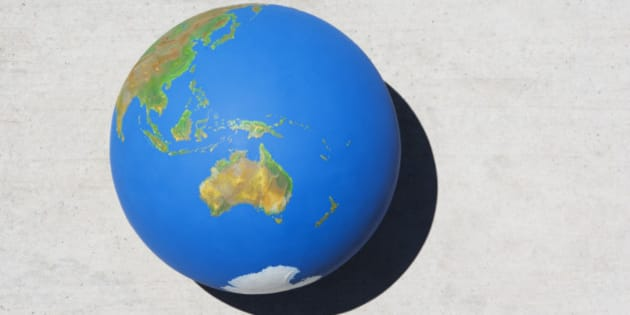Detailed view of globe