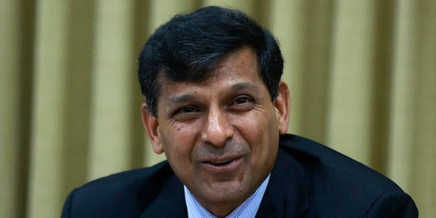 Reserve Bank of India (RBI) Governor Raghuram Rajan speaks during a press conference in Mumbai, India, Tuesday, June 2, 2015. India's central bank cut a key interest rate by a quarter percentage point Tuesday, the third such reduction this year in support of government efforts to boost growth. (AP Photo/Rafiw Maqbool)