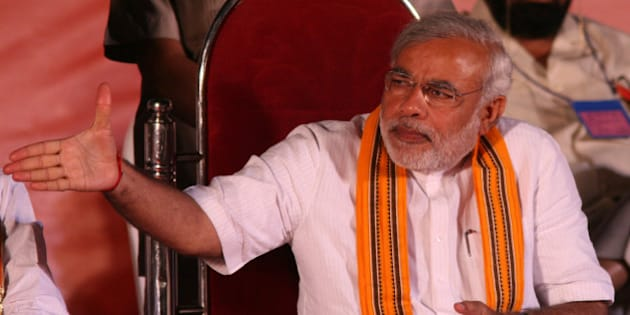 Narendra Modi, the chief minister of Gujarat state, is a divisive figure who is accused by many of having masterminded the anti-Muslim riots in 2002