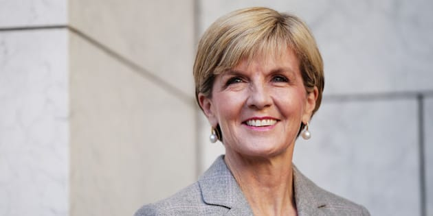 CANBERRA, AUSTRALIA - SEPTEMBER 20:  Minister for Foreign Affairs Julie Bishop listens to Prime Minister Malcolm Turnbull announce his Ministry during a press conference at Parliament House on September 20, 2015 in Canberra, Australia. Malcolm Turnbull was sworn in as Prime Minister on Tuesday after defeating Tony Abbott in a leadership ballot.  (Photo by Stefan Postles/Getty Images)