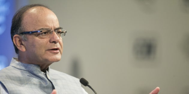 Arun Jaitley, Minister of Finance, Corporate Affairs and Information and Broadcasting of India  at the World Economic Forum - World Economic Forum National Strategy Day New Delhi 2015 in New Delhi, Copyright by World Economic Forum / Benedikt von Loebell #wef #nsdi15 #newdelhi #india
