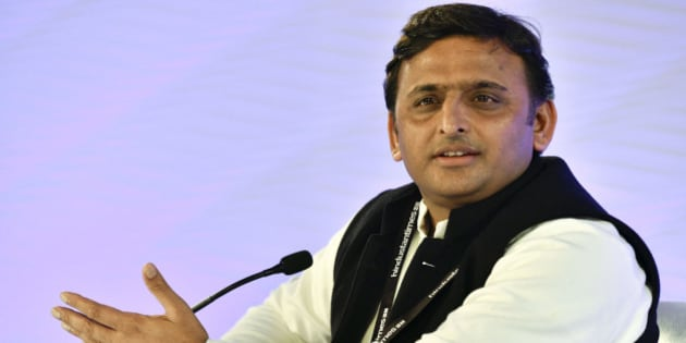 NEW DELHI, INDIA - DECEMBER 4: (Editor's Note: This is an exclusive shoot of Hindustan Times) Uttar Pradesh Chief Minister and Samajwadi Party leader Akhilesh Yadav speaks during a session on the day 1 of Hindustan Times Leadership Summit on December 4, 2015 in New Delhi, India. (Photo by Gurinder Osan/Hindustan Times via Getty Images)