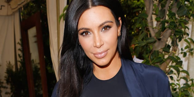 LOS ANGELES, CA - OCTOBER 20:  TV personality Kim Kardashian attends CFDA/Vogue Fashion Fund Show and Tea at Chateau Marmont on October 20, 2015 in Los Angeles, California.  (Photo by Jeff Vespa/Getty Images for CFDA/Vogue)
