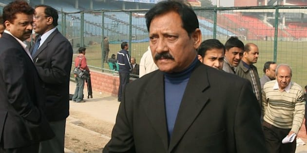 NEW DELHI, INDIA - DECEMBER 29: Delhi and District Cricket Association Vice President Chetan Chauhan after the DDCA's annual general meeting at Ferozeshah Kotla Ground in New Delhi on Tuesday, December 29, 2009. (Photo by Parveen Negi/India Today Group/Getty Images)
