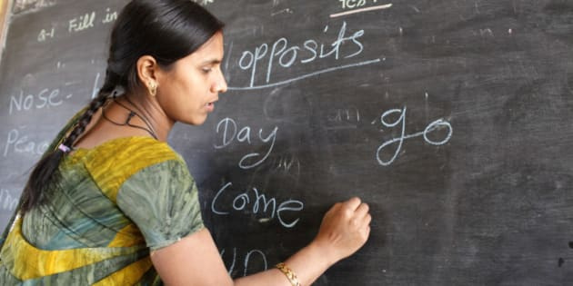 how to teach english in indian schools