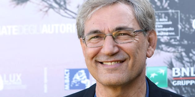 VENICE, ITALY - SEPTEMBER 07:  Writer Orhan Pamuk attends a photocall for 'Innocence Of Memories' during the 72nd Venice Film Festival at Villa degli Autori on September 7, 2015 in Venice, Italy.  (Photo by Elisabetta A. Villa/Getty Images)