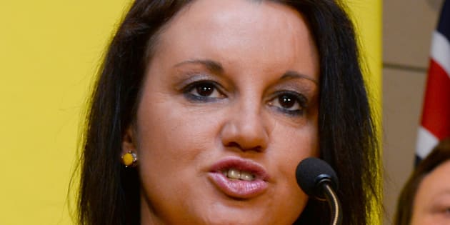 Senator Jacqui Lambie of the Palmer United Party (PUP) speaks during a press conference in Sydney on October 10, 2013. Australian mining billionaire and leader of the Palmer United Party (PUP) Clive Palmer announced he and Australian Motoring Euthusiast Party (AMEP) senator Ricky Muir had signed a memorandum of understanding to work together and with intentions for Muir to vote with the Palmer United Party in the Senate, in Sydney on October 10, 2013.  AFP PHOTO/William WEST        (Photo credit should read WILLIAM WEST/AFP/Getty Images)