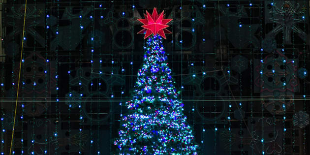 PHILADELPHIA, PA - DECEMBER 31:  A general view of the Christmas Tree at Macy's Center City on December 21, 2015 in Philadelphia, Pennsylvania.  (Photo by Gilbert Carrasquillo/Getty Images)