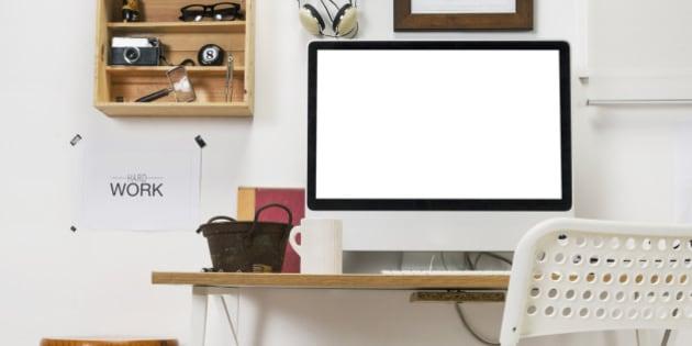 The office of a creative entrepreneur.