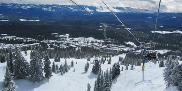 Big White Ski Resort, British Columbia, Canada..