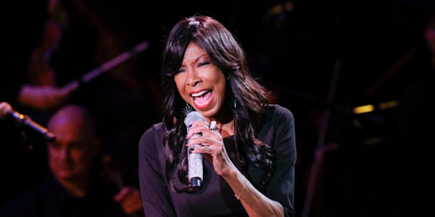 "Singer Natalie Cole performs at ""An Evening of SeriousFun Celebrating the Legacy of Paul Newman,"" hosted by the SeriousFun Children's Network at Avery Fisher Hall, Monday, March 2, 2015, in New York. (Photo by Evan Agostini/Invision/AP)"