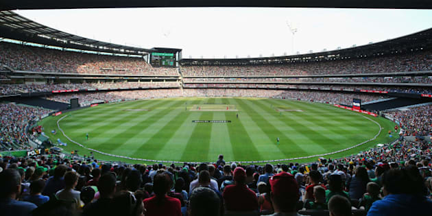 MELBOURNE, AUSTRALIA - JANUARY 02:  A general view is seen during the Big Bash League match between the Melbourne Stars and the Melbourne Renegades at Melbourne Cricket Ground on January 2, 2016 in Melbourne, Australia.  (Photo by Michael Dodge - CA/Cricket Australia/Getty Images)