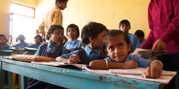 School near Bodh Gaya