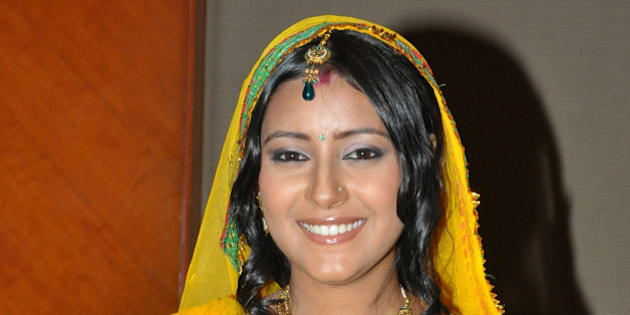 MUMBAI, INDIA � JULY 23: Pratyusha Banerjee, who plays the new grown-up Anandi in the serial Ballika Vadhu, during a press conference in Mumbai on July 23, 2010. (Photo by Yogen Shah/India Today Group/Getty Images)