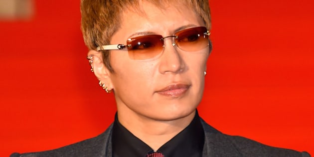 TOKYO, JAPAN - OCTOBER 22:  Singer GACKT attends the opening ceremony of the Tokyo International Film Festival 2015 at Roppongi Hills on October 22, 2015 in Tokyo, Japan.  (Photo by Koki Nagahama/Getty Images)