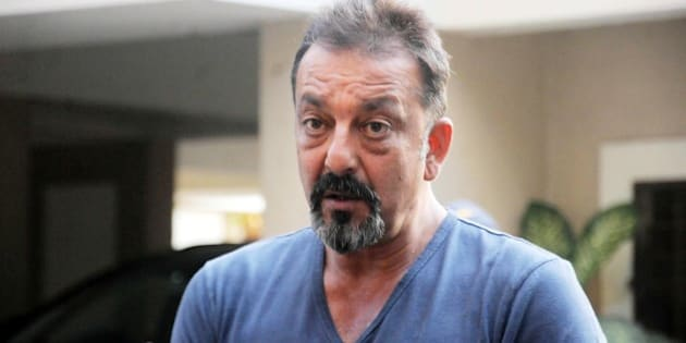MUMBAI, INDIA  DECEMBER 21: Actor Sanjay Dutt was recently released on parole after he cited wife Maanyata's ill-health.(Photo by Milind Shelte/India Today Group/Getty Images)
