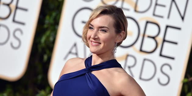 BEVERLY HILLS, CA - JANUARY 10:  Actress Kate Winslet attends the 73rd Annual Golden Globe Awards held at the Beverly Hilton Hotel on January 10, 2016 in Beverly Hills, California.  (Photo by John Shearer/Getty Images)