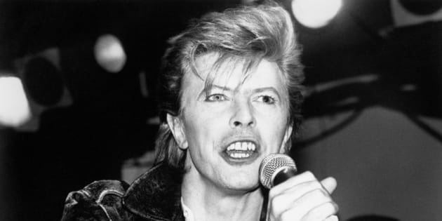 David Bowie pictured performing at The Cat Club in March of 1987 in Hollywood, California.  © RTNGershoff / MediaPunch/IPX
