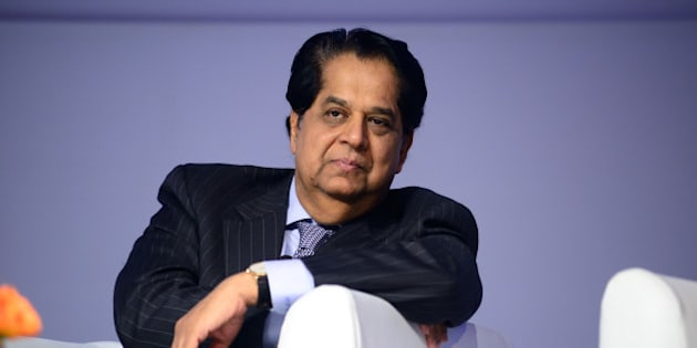 GURGAON, INDIA  DECEMBER 3: KV Kamath, Chairman of Infosys Ltd. and Non-Executive Chairman of ICICI Bank at launch of McKinsey Leadership Institute  on December 3, 2013 in Gurgaon, India.(Photo Pradeep Gaur/Mint via Getty Images)