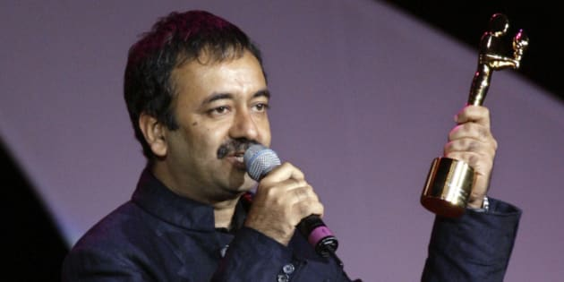 Rajkumar Hirani makes his acceptance speech after receiving the Best Director award at the 9th annual Bollywood Movie Awards in Uniondale, N.Y., Saturday, May 26, 2007. The awards honor the most talented artists, technicians and film-makers of contemporary Indian Cinema. ( AP Photo/Stuart Ramson)
