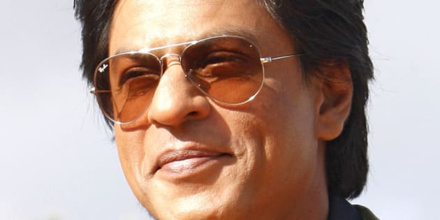 Indian actor Shahrukh Khan poses for photographers at the Marrakech International Film Festival in Marrakech, Saturday, Dec. 1, 2012. The Film Festival takes place until Dec. 8. (AP Photo/Abdeljalil Bounhar)