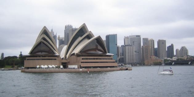 Obligatory shot of Sydney Opera House as seen from the Manly Ferry