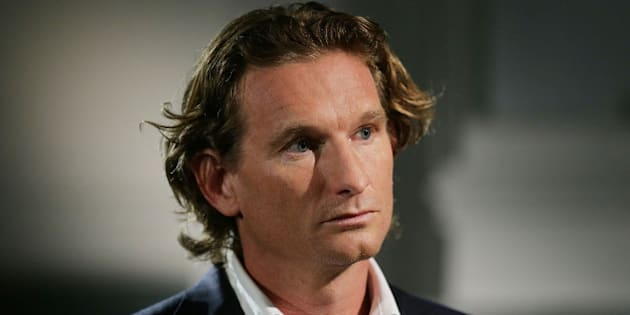 SYDNEY, AUSTRALIA - JANUARY 17:  Former Essendon coach James Hird speaks for the first time about the Essendon doping scandal at The Ethics Centre on January 17, 2016 in Sydney, Australia. The Court of Arbitration for Sport this week upheld an appeal from the World Anti-Doping Agency against the AFL tribunal's decision to clear 34 past and present Essendon players of taking the banned substance thymosin-beta 4 while Hird was coach. The decision means those players have now been banned from the sport for 12 months.  (Photo by Mark Metcalfe/Getty Images)