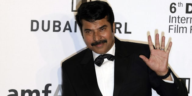 Indian actor Mammootty arrives to attend the Auction for Cinema Against Aids on the sidelines of the DIFF in the Gulf emirate on December 10, 2009. Despite an alarming debt crisis, Dubai is rolling out the red carpet with its usual splendour for movie stars as the Gulf state's sixth annual film festival kicked off on December 9. AFP PHOTO/STR (Photo credit should read -/AFP/Getty Images)