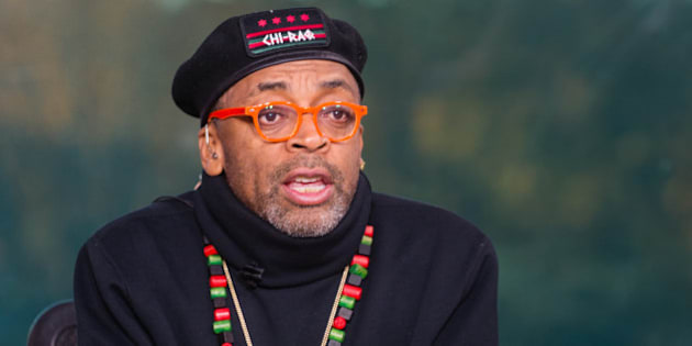 IMAGE DISTRIBUTED FOR TV ONE - Filmmaker Spike Lee on the set of TV One's News One Now discussing his upcoming release of Chi-Raq and Hollywood diversity on Friday Nov. 20, 2015. (Rodney Choice/AP Images for TV One)