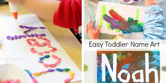 Kids Craft Ideas 15 Ways Kids Can Get Creative With Their Names