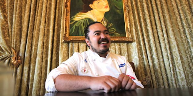 JOHANNESBURG, SOUTH AFRICA - SEPTEMBER 20 (SOUTH AFRICA OUT):  Winner of Australian Masterchef, Season 2, Adam Liaw on September 20, 2011 in Johannesburg, South Africa Liaw is in the country for the Good Food & Wine Show which takes place at Monte Casino from September 22- 25. (Photo by The Times/Gallo Images/Getty Images)
