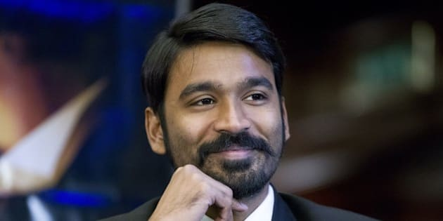 Indian actor Dhanush attends a press conference to promote the film 'Shamitabh' in central London on January 27, 2015. AFP PHOTO / JUSTIN TALLIS        (Photo credit should read JUSTIN TALLIS/AFP/Getty Images)