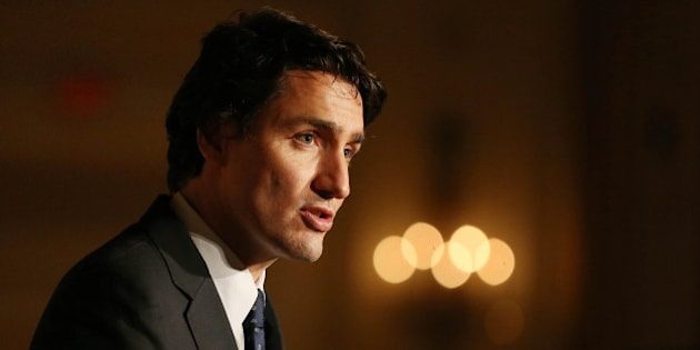 TORONTO, ON- NOVEMBER 27  -   Liberal Party of Canada Leader Justin Trudeau spoke on the accomplishments of South Asians in the law field. At the South Asian Bar Association's Annual Awards Gala at  the Royal York Hotel in Toronto. November 27, 2014.        (Steve Russell/Toronto Star via Getty Images)