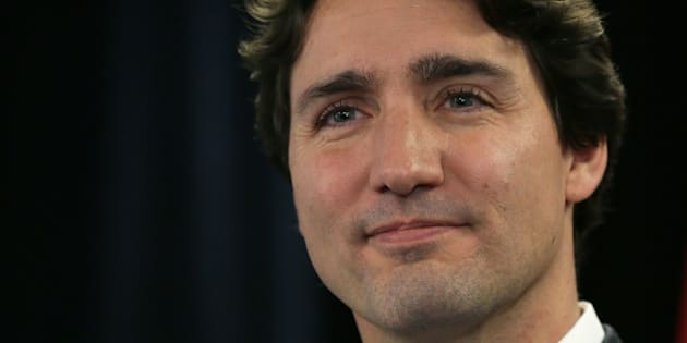 Canadian Prime Minister Justin Trudeau speaks during a press conference following a speech on diversity, at Canada House in London, Wednesday Nov. 25, 2015. (AP Photo/Tim Ireland)