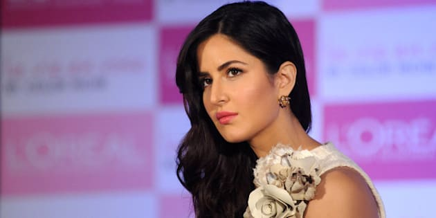 Indian Bollywood actress Katrina Kaif attends an event for LOreal products in Mumbai on January 28, 2016. AFP PHOTO / AFP / STR        (Photo credit should read STR/AFP/Getty Images)