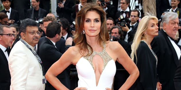 cindy crawford at the 66th...