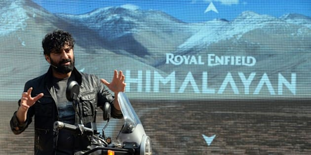 Royal Enfield MD & CEO Siddhartha Lal interacts with media while introducing new motorcycle 'Himalayan' in New Delhi on February 2, 2016. Royal Enfield introduced purpose-built motorcycle 'Himalayan' for adventure and touring in the Himalayas powered by a new 411 cc engine. AFP PHOTO / Prakash SINGH / AFP / PRAKASH SINGH        (Photo credit should read PRAKASH SINGH/AFP/Getty Images)