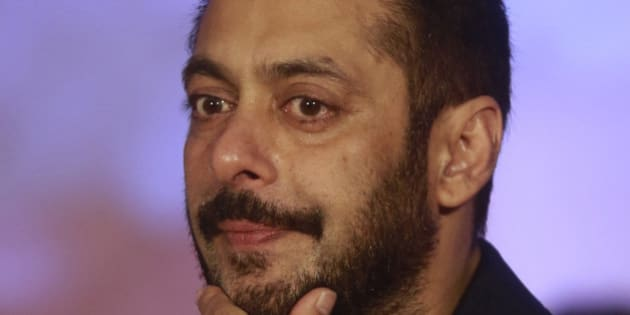 Bollywood actor Salman Khan attends a promotional event for his upcoming movie 'Prem Ratan Dhan Payo' in Mumbai, India, Wednesday, Nov. 11, 2015. The film is scheduled to be released on Nov. 12. (AP Photo/Rafiq Maqbool)