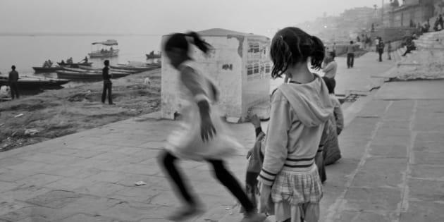 "On the ghats. Varanasi (Banaras) India, 2011  Only the street shots - <a href=""http://thestreetzine.blogspot.com/view/mosaic"" rel=""nofollow"">thestreetzine.blogspot.com/view/mosaic</a>"