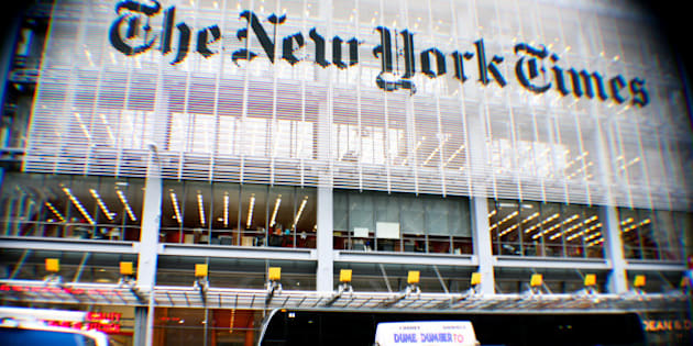 The New York Times Building, Manhattan, NY, USA