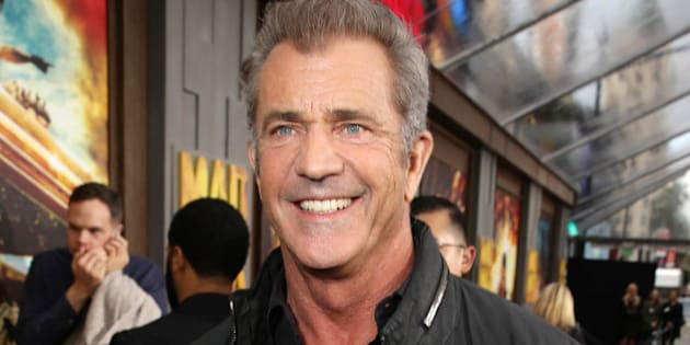 """Mel Gibson seen at the Warner Bros. premiere of """"Mad Max: Fury Road"""" on Thursday, May 7, 2015, in Los Angeles. (Photo by Eric Charbonneau/Invision for Warner Bros./AP Images)"""