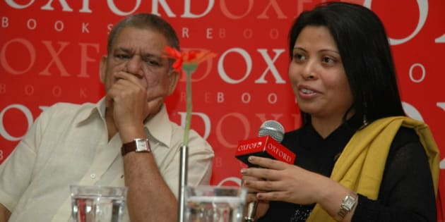 INDIA - JANUARY 12:  Nandita C Puri released her first book \  (Photo by Amrendra Jha/The India Today Group/Getty Images)
