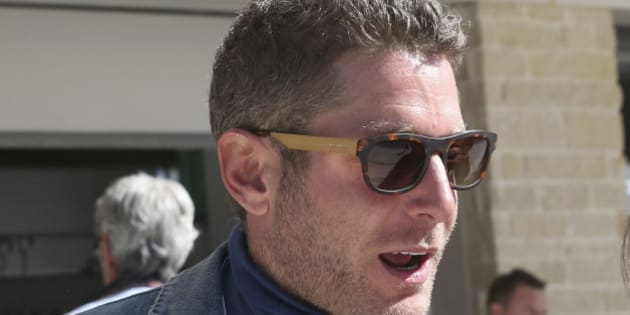 Italian entrepreneur Lapo Elkann attends  the qualifying session for the Formula One U.S. Grand Prix auto race, at the Circuit of the Americas race track, in Austin, Texas, Saturday, Nov. 17, 2012. Formula One's U.S. Grand Prix auto race is scheduled for Sunday. (AP Photo/Luca Bruno)