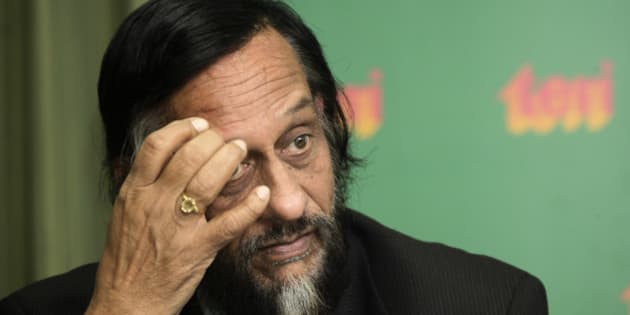 U.N.'s Intergovernmental Panel on Climate Change (IPCC) head Rajendra Pachauri looks on at a press conference in New Delhi, India, Thursday, Jan. 21, 2010. Five glaring errors were discovered in one paragraph of the world's most authoritative report on global warming, forcing the Nobel Prize-winning panel of climate scientists at the IPCC who wrote it to apologize and promise to be more careful. (AP Photo/Gurinder Osan)