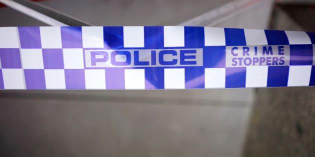 Victorian Police barrier/crime scene tapeMelbourne, Australia