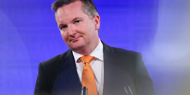 CANBERRA, AUSTRALIA - MAY 20:  Shadow Treasurer Chris Bowen gives his budget reply address at the National Press Club on May 20, 2015 in Canberra, Australia.  The Labor Party  assert the current Superannuation tax concessions are unaffordable and need to be changed, following last weeks 2015 Federal budget announcement.  (Photo by Stefan Postles/Getty Images)